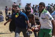 """综述:巴勒斯坦人纪念第70个""""灾难日"""""""