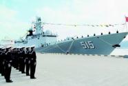第二十九批护航编队滨州舰在德举行舰艇开放日