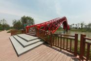温州经开区滨水公园为纬十浦绿化景观工程添彩