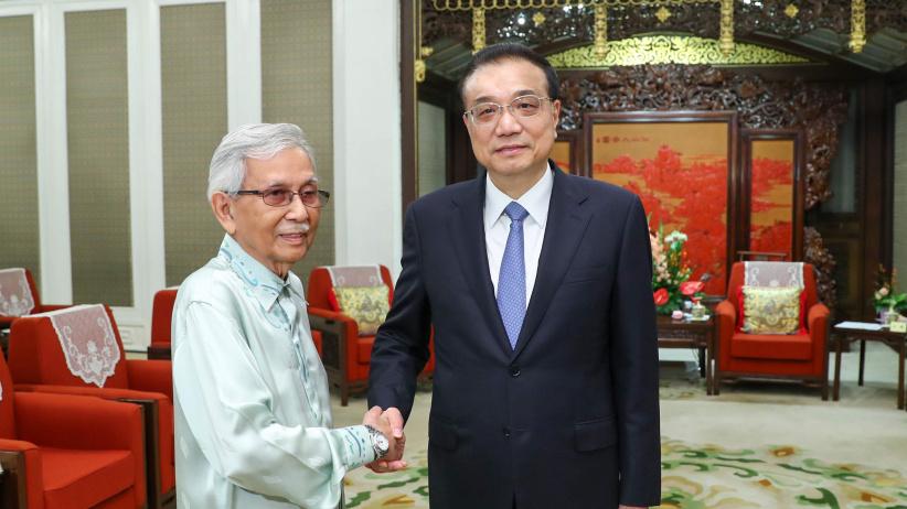 李克强会见马来西亚总理特使