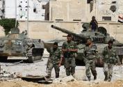 """叙利亚武装恢复进攻""""?#20102;?#20848;国""""最后据点"""