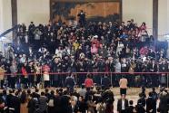 """全国政协十三届二次会议首场""""委员通道""""扫描"""