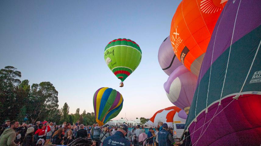 堪培拉热气球节