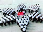 """海军举办""""人民海军忠于党""""成就图片展庆祝人民海军成立70周年"""