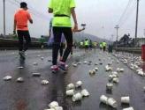 绿色应是马拉松赛事标配
