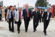 广东丰顺:许应裘先生回乡考察坚真文体中心建设