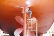 休渔季 修渔船