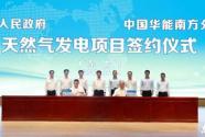 总投资50亿元天然气发电项目落户惠州龙门